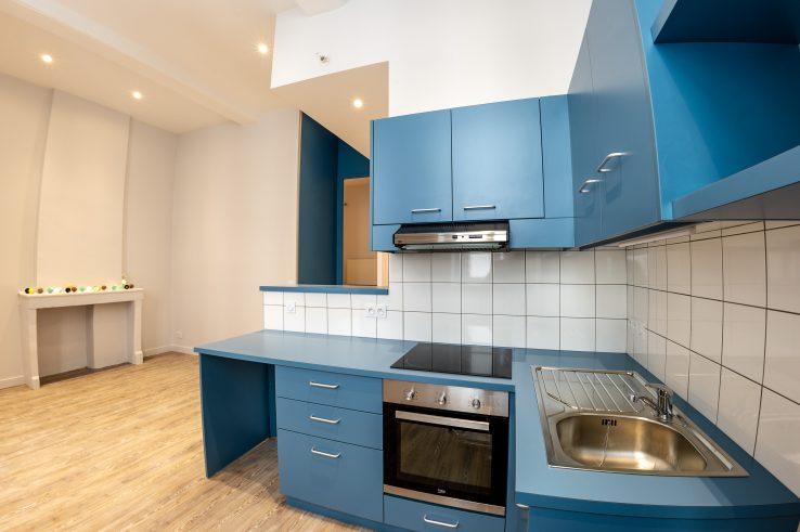 Rénovation appartement Couleurs d'Architecture